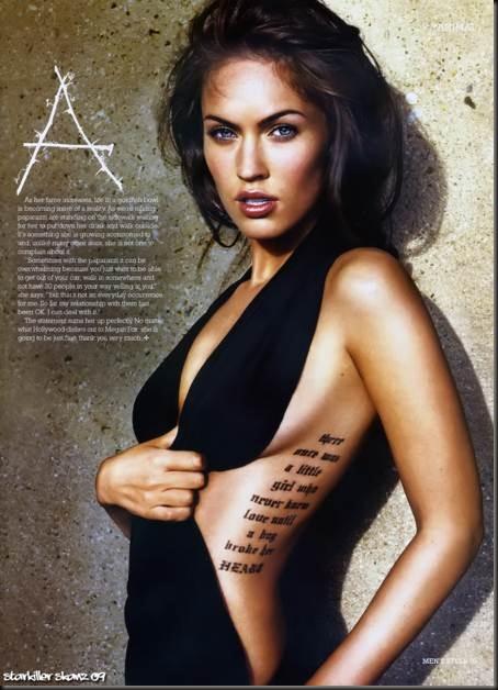 Megan-Fox-mostrando-su-tatuaje-sexy